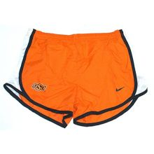 NCAA Licensed Oklahoma State Cowboys Youth Lined Dri-Fit Athletic Shorts (Small)