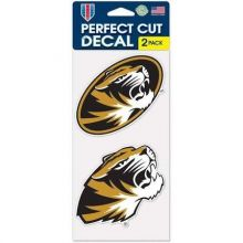bbsports Missouri Mizzou Tigers Perfect Cut 2 Pack Decals
