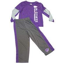Colosseum Kansas State Wildcats 2018 Toddler Boys Tracksuit 3T