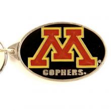 NCAA Officially Licensed Pewter Keychain Keyring (Minnesota Golden Gophers)