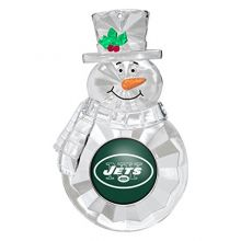 NFL New York Jets Traditional Snowman Ornament