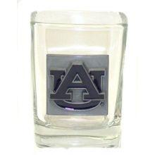 Boelter Auburn Tigers Pewter Logo Square 2 oz Shot Glass