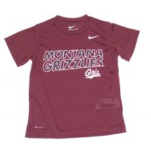 NCAA Licensed Montana Grizzlies YOUTH Dri-Fit T-Shirt (Size 5 )
