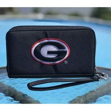 Charm14 NCAA Georgia Bulldogs Deluxe Cell Phone Wallet-Fits All Phones