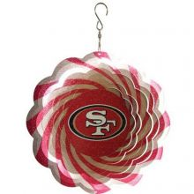 "NFL Officially Licensed 10"" Team Logo Geo Spinner (San Francisco 49ers)"