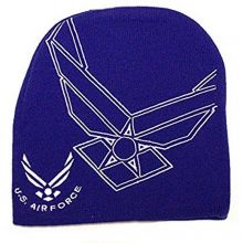 Officially Licensed Air Force Hype Logo Beanie hat cap lid