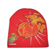 Officially licensed Marines Hype Logo Beanie hat cap lid