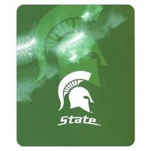 Bama NCAA Officially Licensed Ghost Series Throw (Michigan State Spartans)