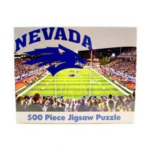 R and R Imports NCAA Nevada Wolf Pack Unisex 500-Piece Stadium Jigsaw Puzzle, Team Color, 500-Piece