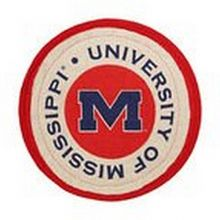 Bama NCAA Officially Licensed University of Mississippi Ole Miss Rebels Quilted Collegiate Hot Pad (Pot Holder)