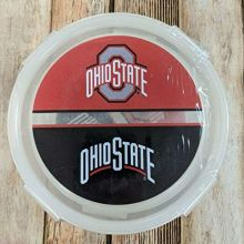Boelter Brands Ohio State 2 Pack Round Locking Plastic Containers