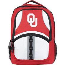 "Oklahoma Sooners ""Captain"" Backpack, 18.5"" x 13"" x 8"""