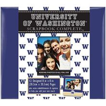 "Tapestry NCAA Officially Licensed University Washington Huskies 8"" X 8"" Co."