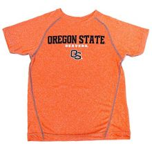 Genuine Stuff Oregon Beavers Licensed Short Sleeve Youth Orange Dry Fit Shirt (Medium 10/12)