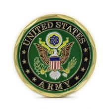 Eagle Crest US Army Seal and Logo Coin Military Gifts Collectible Coins
