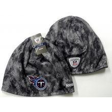 NFL Officially Licensed Reebok Tennessee Titans Grey Camoflauge Swarm-knit Beani