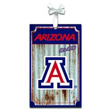 Team Sports America Arizona Wildcats Corrugated Metal Ornament