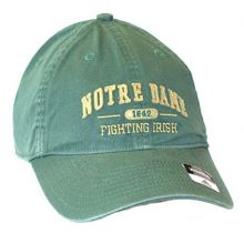 NCAA Officially Licensed Notre Dame Womens 1842 Green Slouch Fit Hat Cap Lid