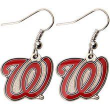 "MLB Washington Nationals ""W"" Logo Dangler Earrings"