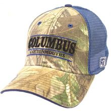 The Game Columbus Cottonmouths Realtree Camouflage Flex Fit Hat
