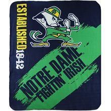 The Northwest Company NCAA Officially Licensed Notre Dame Fightin' Irish College Varsity Fleece Throw Blanket