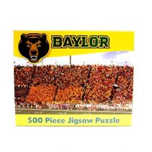 R and R Imports NCAA Baylor Bears Unisex 500-Piece Stadium Jigsaw Puzzle, Team Color, 500-Piece