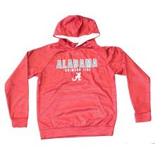 Colosseum NCAA Licensed Alabama Crimson Tide Youth Surge Pullover Hooded Jacket (Large 16-18)