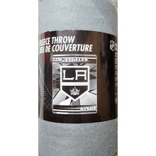 """The Northwest Company NHL Officially Licensed Los Angeles Kings Broken Ice Fleece Throw (50"""" x 60"""")"""