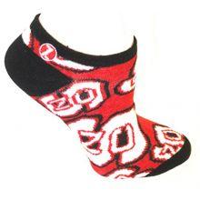 Zoozatz North Carolina State Wolfpack No Show Repeater Socks L/XL