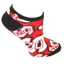 Zoozatz North Carolina State Wolfpack No Show Repeater Socks S/M