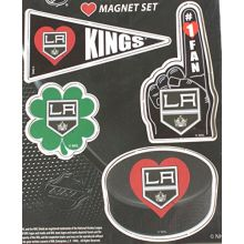 Los Angeles Kings 4 Piece Magnet Set