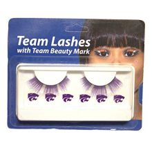 Little Earth Productions NCAA Licensed Team Lashes Eyelash Extensions (Kansas State Wildcats)