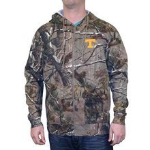 NCAA Officially Licensed Tennessee Volunteers Collegiate Realtree Camouflage Full Zip Hoodie (Size SMALL)