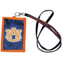 NCAA Auburn Tigers Beaded Lanyard with Nylon Wallet