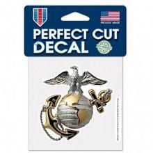 "WinCraft United States Marines 4"" X 4"" Die-Cut Perfect Cut Decal_"