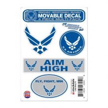 """WinCraft Military Air Force United States Air Force 5"""" x 7"""" All Surface DecalsUnited States Air Force 5"""" x 7"""" All Surface Decals, Multicolor, NA_"""