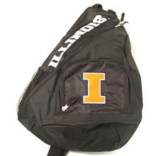 Concept One Illinois Fignting Illini Sideswipe Sling Backpack