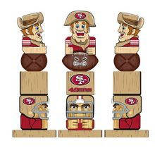 Team Sports America NFL Tiki Totems (16 Inches, San Francisco 49ers)
