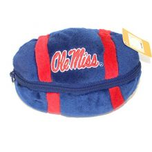 NCAA Officially Licensed Zip-Up Football Plush (Ole Miss Rebels)
