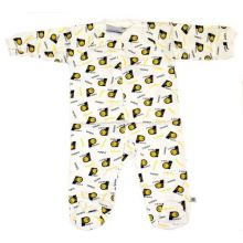 NBA Officially Licensed Indiana Pacers Repeater Pattern Bodysuit Creeper (6/9 Months)