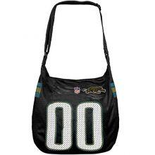 Football Fanatics NFL Jacksonville Jaguars Black Veteran Jersey Tote Bag
