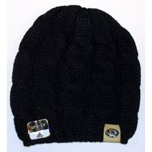 adidas Missouri Tigers Womens Braided Knit Hat