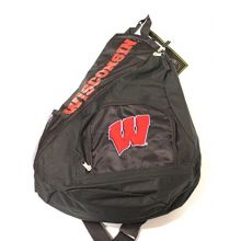 Concept One Wisconsin Badgers Sideswipe Sling Backpack