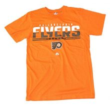 Majestic Athletic NHL Licensed Philadelphia Flyers Shirt (Medium)