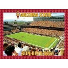 R and R Imports NCAA Arizona State Sun Devils Unisex 500-Piece Stadium Jigsaw Puzzle, Team Color, 500-Piece