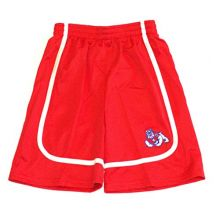 NCAA Officially Licensed Fresno State Bulldogs Boys Shorts (Small 6/7)