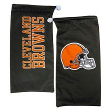 California Accessories Cleveland Browns Drawstring Microfiber Glasses Pouch