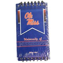 CR Gibson NCAA Officially Licensed Ole Miss Rebels 3 Pack Spiral Memo Book