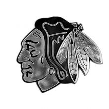NHL Chicago Blackhawks Chrome Automobile Emblem