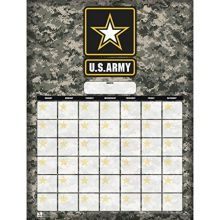 Turner Perfect Timing US Army Jumbo Dry Erase Sports Calendar (8921095)